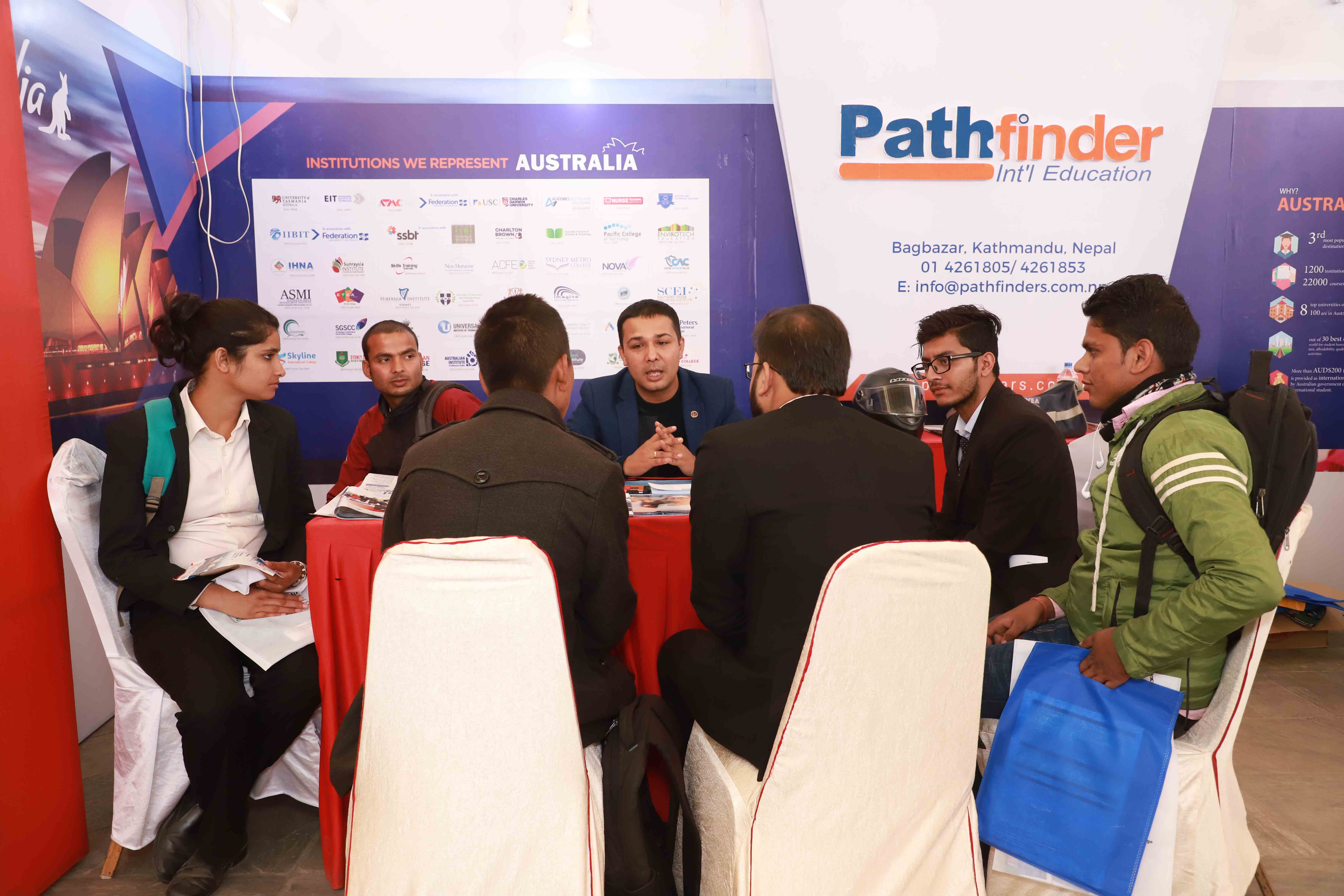 4th Mega Australia Education Fair- Kathmandu