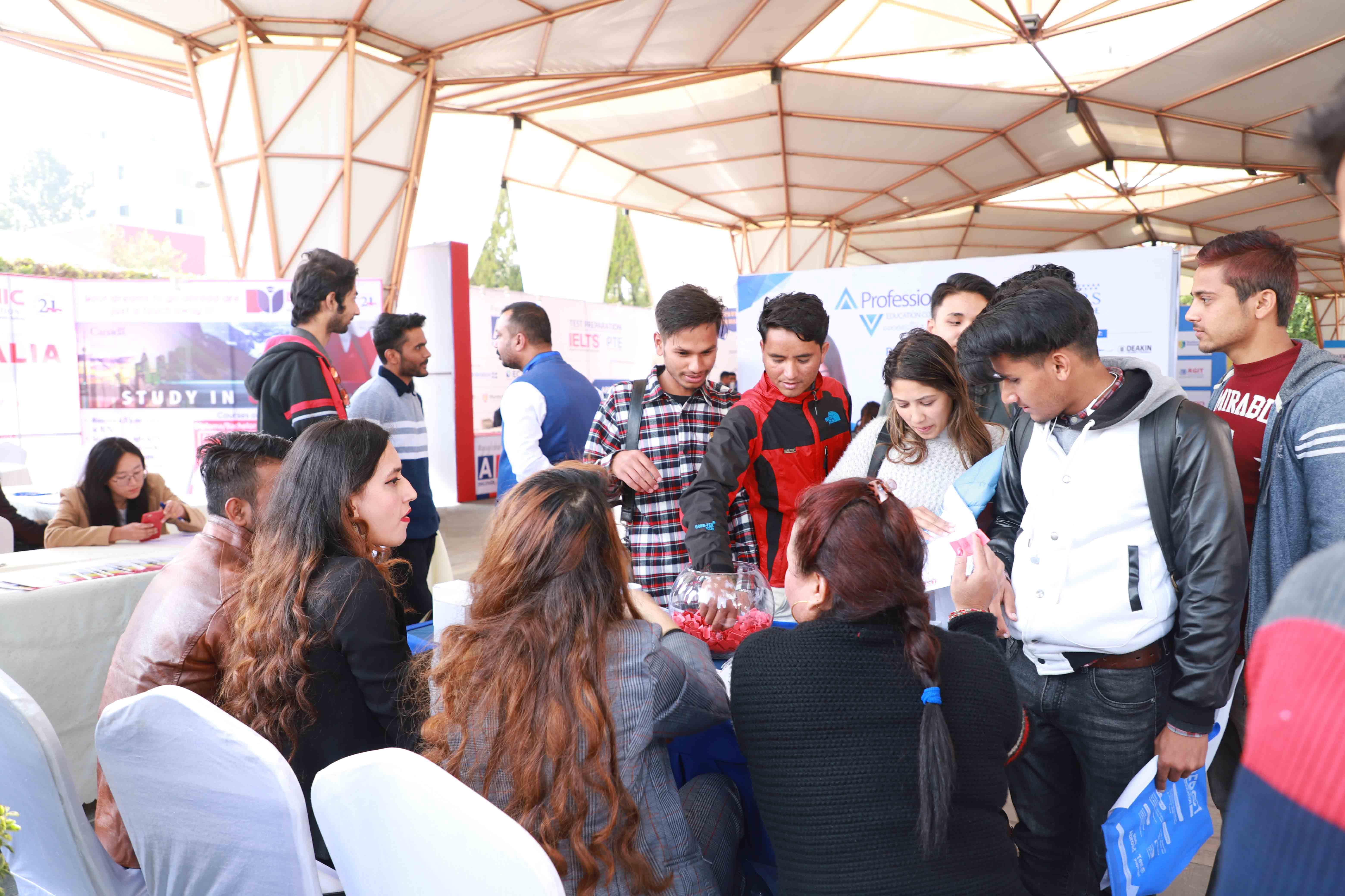 4th Mega Australia Education Fair- Kathmandu