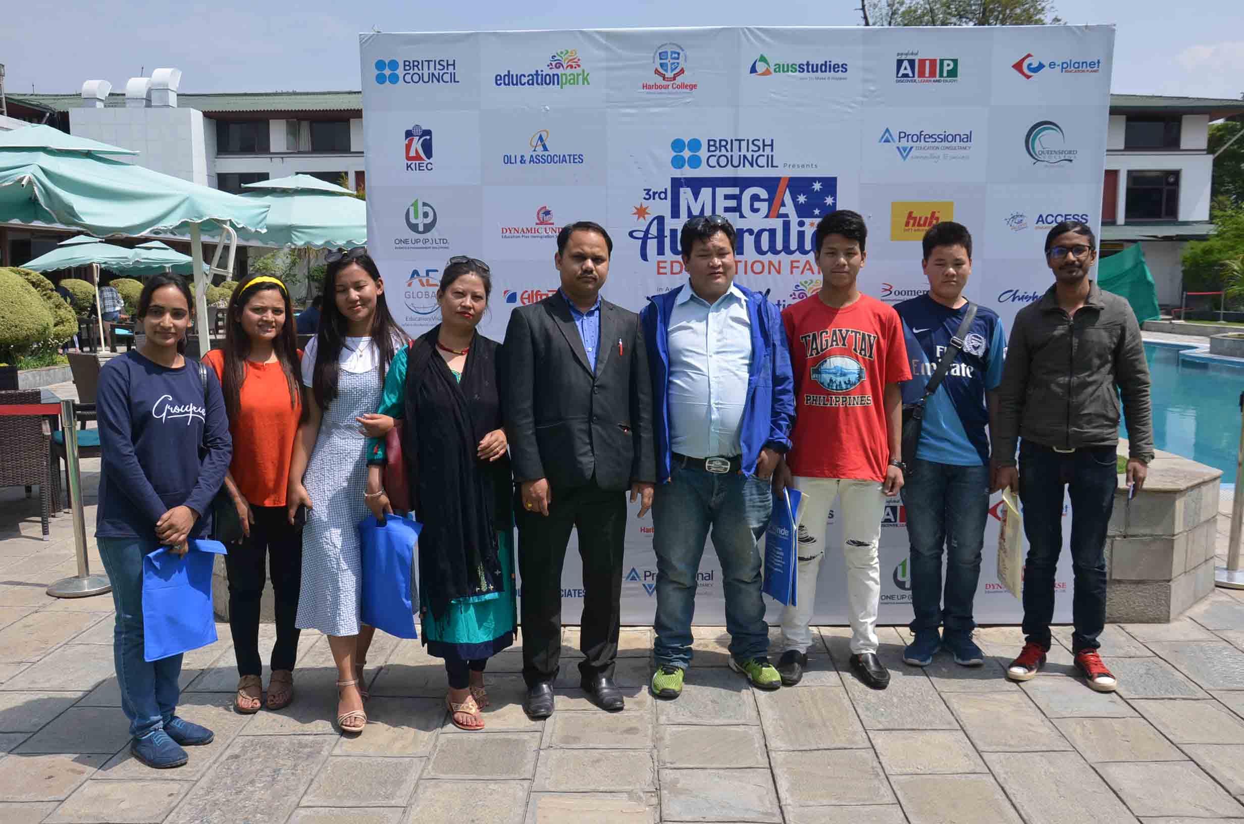3rd  Mega  Australia Education Fair- Kathmandu